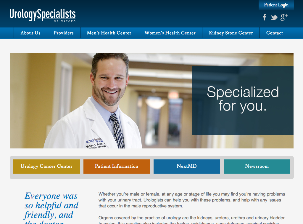 Urology Specialists Of Nevada